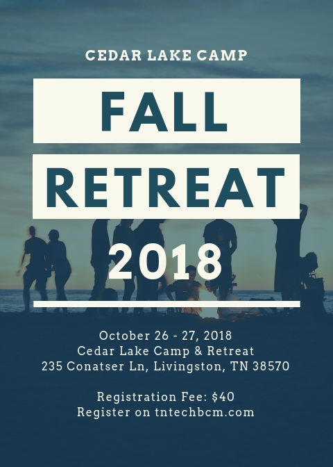 Fall Retreat Promo