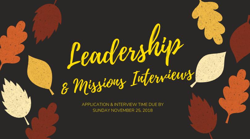 Website- Leadership Interviews